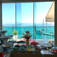 Alesta Yacht Hotel Турция, Фетхие - отзывы, цены и фото номеров - забронировать отель Alesta Yacht Hotel онлайн питание