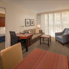 Отель Residence Inn Bethesda Downtown США, Бетесда - отзывы, цены и фото номеров - забронировать отель Residence Inn Bethesda Downtown онлайн комната для гостей