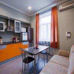 Апартаменты LikeHome Апартаменты Тверская Студия Делюкс разные типы кроватей фото 8