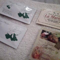 Отель B&B La Martina Италия, Лимена - отзывы, цены и фото номеров - забронировать отель B&B La Martina онлайн с домашними животными