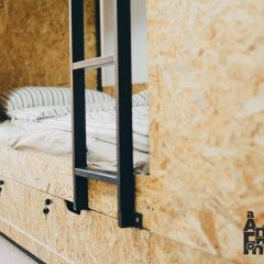 Гостиница SolHostel Кровать в общем номере с двухъярусной кроватью фото 2