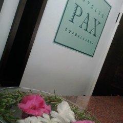 Hotel Pax Guadalajara 4* Стандартный номер с различными типами кроватей фото 7