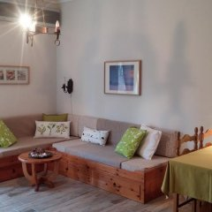 Отель Daniil's Seafront Apartment Греция, Ситония - отзывы, цены и фото номеров - забронировать отель Daniil's Seafront Apartment онлайн комната для гостей фото 3