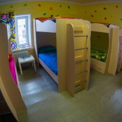Хостел Гуд Лак Кровать в общем номере фото 33