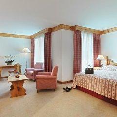 Отель Crystal Hotel superior Швейцария, Санкт-Мориц - отзывы, цены и фото номеров - забронировать отель Crystal Hotel superior онлайн комната для гостей фото 2
