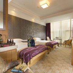 Отель Hangzhou Hua Chen International 4* Улучшенный номер с 2 отдельными кроватями фото 7
