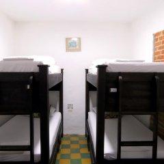 Отель Hostal Pajara Pinta Кровать в общем номере с двухъярусной кроватью фото 8