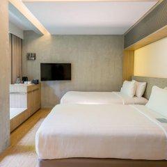 Отель Ad Lib 4* Стандартный номер с различными типами кроватей фото 13
