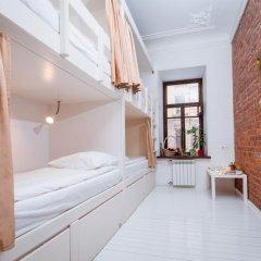 Тайга Хостел Кровать в общем номере с двухъярусной кроватью фото 6