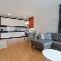 Апартаменты Imperial Apartments - Sopocka Przystań Сопот комната для гостей фото 2