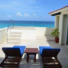 Отель Grand Park Royal Luxury Resort Cancun Caribe 4* Президентский люкс с различными типами кроватей фото 4
