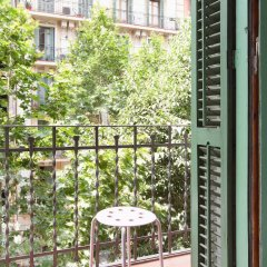 Апартаменты Centric Apartments Sagrada Famila 3 Барселона балкон