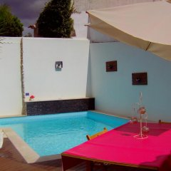 Отель Vivenda Violeta бассейн