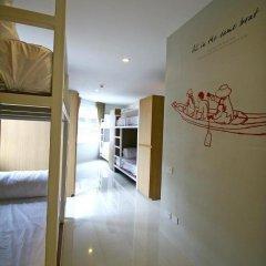 Chern Hostel Кровать в общем номере с двухъярусной кроватью