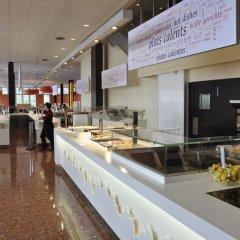 Отель Apartamentos Montserrat Abat Marcet Монистроль-де-Монтсеррат питание
