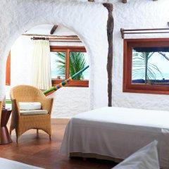 Отель Las Nubes de Holbox 3* Бунгало с различными типами кроватей фото 10