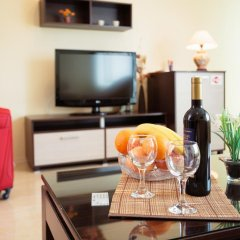 Отель Bright House 3* Улучшенные апартаменты с различными типами кроватей фото 12