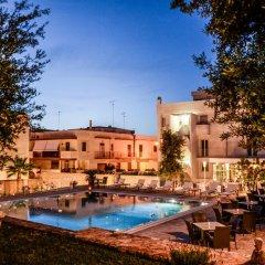 Hotel Ristorante Colle Del Sole Альберобелло бассейн фото 2