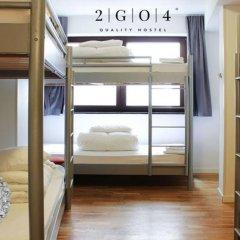2GO4 Quality Hostel Grand Place Кровать в общем номере с двухъярусной кроватью фото 4