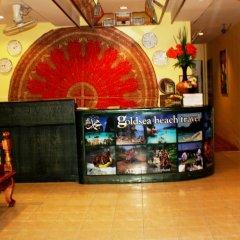 Отель Goldsea Beach гостиничный бар