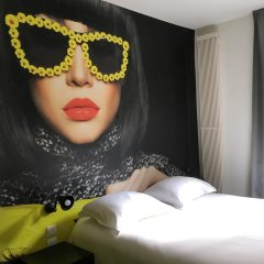Отель Le Glam's Hôtel комната для гостей фото 3