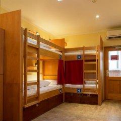 Euro Youth Hotel Кровать в общем номере с двухъярусной кроватью
