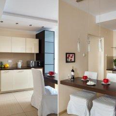 Апартаменты Chopin Apartments Platinum Towers Улучшенные апартаменты с различными типами кроватей