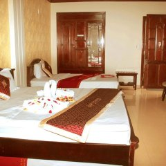 Thuy Duong Hotel 2* Стандартный семейный номер с двуспальной кроватью фото 3