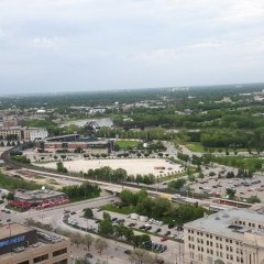 Alt Hotel Winnipeg балкон