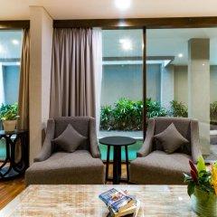 Отель Aleesha Villas 3* Вилла Делюкс с различными типами кроватей фото 20