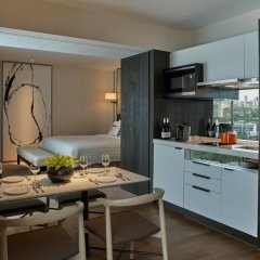 Shangri-La Hotel Singapore 5* Номер Делюкс с различными типами кроватей фото 3