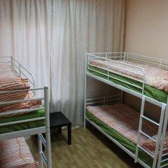 Гостиница Аэрохостел Кровать в общем номере с двухъярусными кроватями фото 5