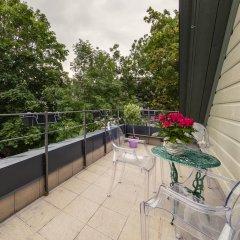 Апартаменты Apple 9 Studio балкон