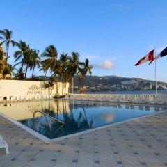 Hotel Elcano Acapulco Акапулько бассейн фото 2