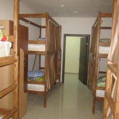 """хостел """"Зонт и шляпа"""" Кровать в общем номере с двухъярусной кроватью"""