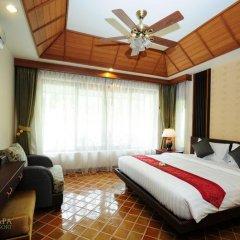 Отель Bhumlapa Garden Resort 3* Вилла Делюкс с различными типами кроватей фото 4
