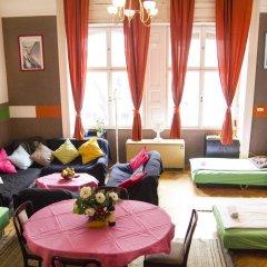 Hostel Budapest Center Кровать в общем номере с двухъярусной кроватью фото 8