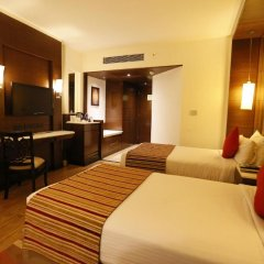 Отель City Park Airport 3* Представительский номер с различными типами кроватей фото 4