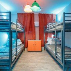 Art-hotel Zontik 2* Кровать в общем номере с двухъярусной кроватью фото 2