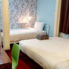 Decor Do Hostel Стандартный семейный номер с различными типами кроватей фото 4