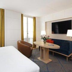 Отель Hôtel Opéra Richepanse 4* Номер Делюкс с различными типами кроватей фото 18