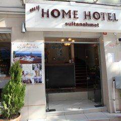 Отель My Home Sultanahmet Стамбул вид на фасад фото 3