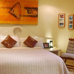 Villas Sacbe Condo Hotel and Beach Club Плая-дель-Кармен сейф в номере