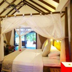 Отель Medhufushi Island Resort 4* Вилла с различными типами кроватей фото 3
