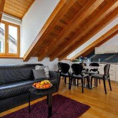 Отель Villa Marta 4* Улучшенные апартаменты с различными типами кроватей фото 4