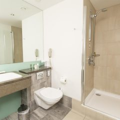 Отель Hilton London Canary Wharf 4* Представительский номер с различными типами кроватей фото 9