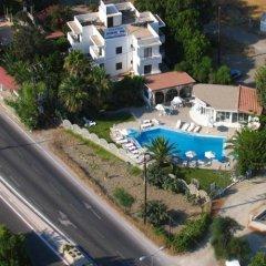 Отель Dolphin Apartments Греция, Родос - отзывы, цены и фото номеров - забронировать отель Dolphin Apartments онлайн балкон