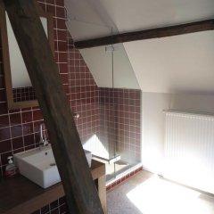 Отель B&B Den Witten Leeuw 3* Стандартный семейный номер с двуспальной кроватью фото 8
