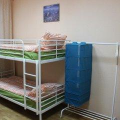 Гостиница Аэрохостел Кровать в общем номере с двухъярусной кроватью фото 6