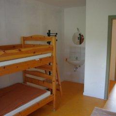 Отель Le Fagotin Стандартный номер с двуспальной кроватью (общая ванная комната)